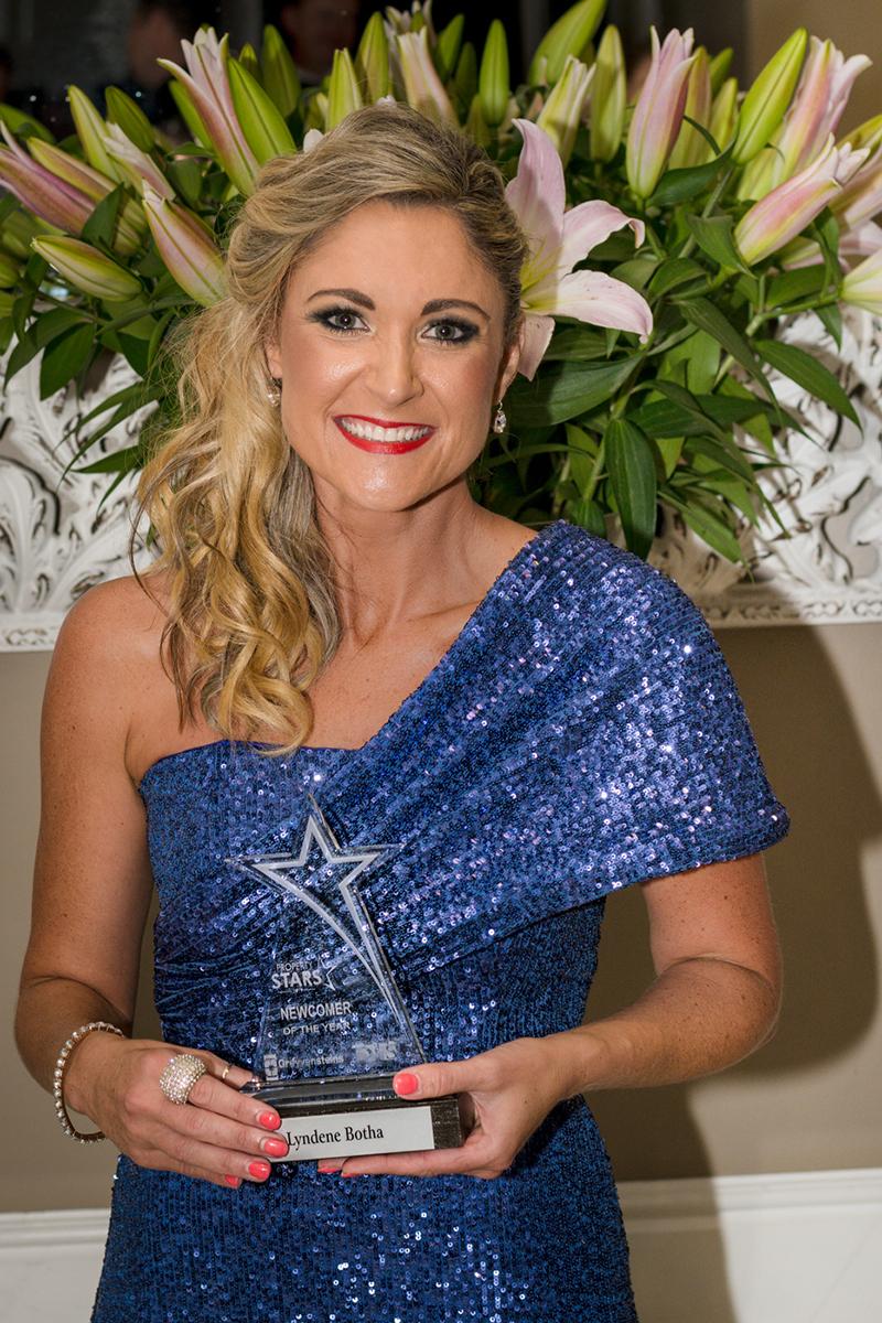 BA Newcomer winner - Lyndene Botha