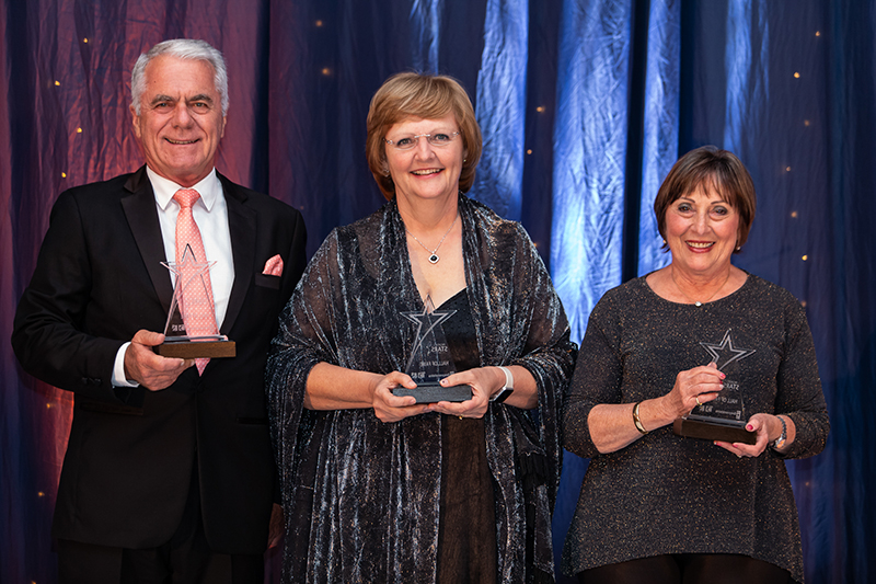 D Hall of Fame - Gordon Smart, Julia Goss, Ruth Kock